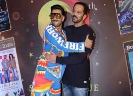 PICS- Ranveer Singh's quirky attire is fireworks before Diwali 2018-Photo Gallery