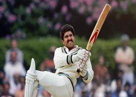 Ranveer Singh Looks Smashing in Kapil Dev's Iconic Natraj Shot in '83