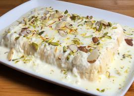 Recipe- Easy To Make Instant Ras Malai