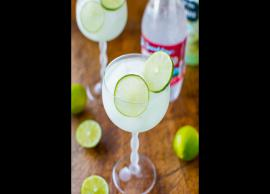 Recipe- Enjoy The Hot Summer Day With Raspberry Lime Margarita Fizz