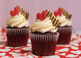 Valentines Day Recipe- Eggless Red Velvet Cupcakes
