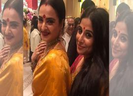 Ganesh Chaturthi 2018- Vidya Bala Welcome Lord Ganesha With Rekha