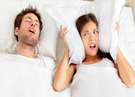 5 Natural Ways To Get Rid from Problem of Snoring
