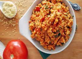 Recipe- Try This Millet Tomato Rice