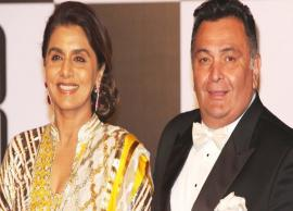 Amid treatment, Rishi Kapoor, Neetu Kapoor visit temple in NYC, See Pic