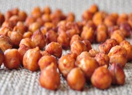 Recipe- Roasted BBQ Chickpeas are Perfect Tea Time Snack