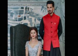 PICS- Rubina Dilaik and Abhinav Shukla reception look is not less than a royal couple-Photo Gallery