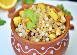 Navratri Recipe- Perfect and Common Sabudana Khichdi