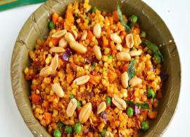 Navratri Recipe- Masala Sabudana Khichdi For Fast