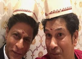 Shah Rukh Khan and Sachin Tendulkar's selfie beats all the pictures at Akash Ambani's engagement bash