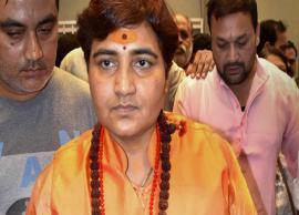 VIDEO- Sadhvi Pragya stokes controversy, says 'Hemant Karkare lost his life because I cursed him'
