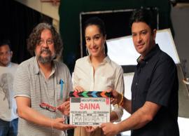 Shraddha Kapoor kick starts shooting of Amol Gupte's Saina Nehwal biopic