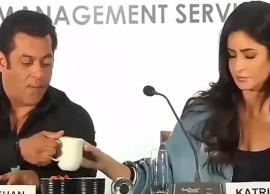 AWW! Salman Khan and Katrina Kaif Captured Sharing Same Coffee Mug, Video Viral