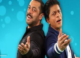 Salman Khan and Shah Rukh Khan to treat their fans on Eid 2018