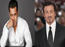 Sylvester Stallone Promoting Salman Khan Race 3 is Just WOW