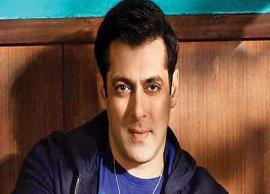 Salman Khan Soon To Launch His Own Theatre Chain