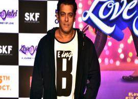 Salman Khan wants Aayush Sharma-Warina Hussain's 'LoveYatri' to be Rs 170 crore worth flop