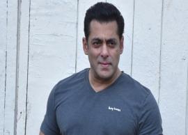 Salman Khan gets emotional about Laxmikant Berde