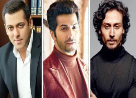 Salman Khan takes a dig at young actors, rates Tiger Shroff and Varun Dhawan on the top