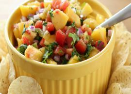 Recipe- Peach Salsa is a Sweet and Spicy Dish