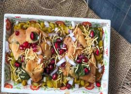 Summer Recipe- Try This Delicious Samosa Chaat