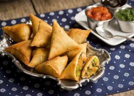 Recipe- Crispy and Flaky Schezwan Samosa