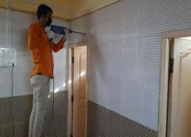 Coronavirus Update- Community toilets in Worli get automated sanitising system