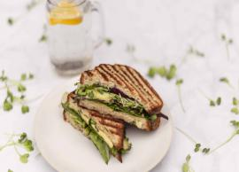 Recipe- Specially For Health Freaks Mixed Sprouts Sandwich