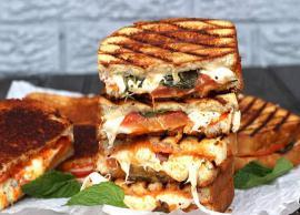 Recipe- Delicious Grilled Margherita Sandwich