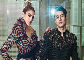 PICS- Siblings Sara Ali Khan and Ibrahim Ali Khan look aesthetic on magazine cover