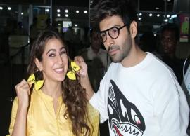 Sara Ali Khan goes for a 'sasti Beyonce' look to promote 'Love Aaj Kal'