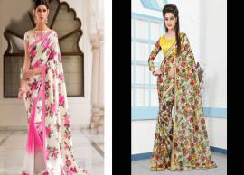 5 Floral Print Saree To Style This Summer-Photo Gallery