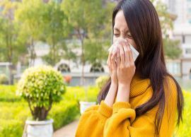 5 Home Remedies To Treat Seasonal Allergies