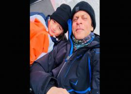 PICS- Shah Rukh Khan on Small Vacation With Abram is Amazing