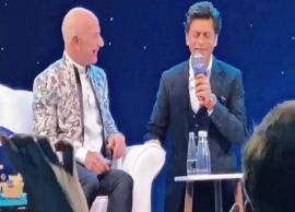 VIDEO- Shah Rukh Khan makes Amazon CEO Jeff Bezos say the iconic 'Don' dialogue