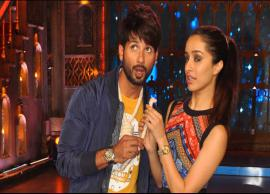 PICS- Shahid and Shraddha Kapoor Seen Riding Scooter-Photo Gallery