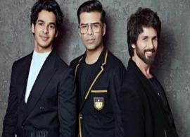 Shahid Kapoor to appear with Ishaan Khatter on Koffee With Karan 6