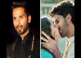 Shahid Kapoor gets angry at a reporter questioning kissing scene with Kiara Advani