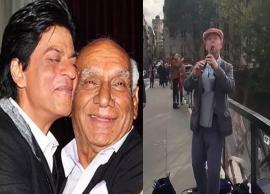 VIDEO- Shah Rukh Khan gets emotional about violinist playing 'DDLJ' in Paris