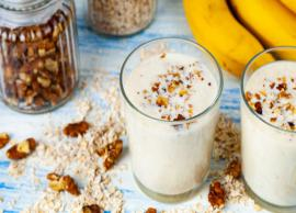 Recipe- Banana, Walnut, and Cinnamon Shake