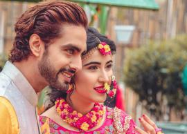 PICS- Sheena Bajaj-Rohit Purohit's haldi and mehendi pictures are out-Photo Gallery
