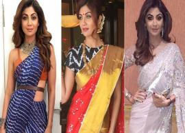 Saree Trends To Get Inspired From Shilpa Shetty