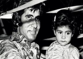 Shweta Nanda shares a cute throwback picture with dad Amitabh Bachchan ahead of his birthday