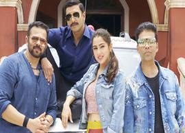 VIDEO- Ranveer Singh, Sara Ali Khan kick start shooting For Simmba