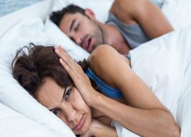 8 Natural Ways To Get Rid Of Snoring Problem