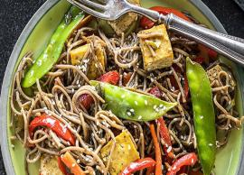 Recipe- Easy To Make Soba Noodles Stir Fry with Curried Tofu
