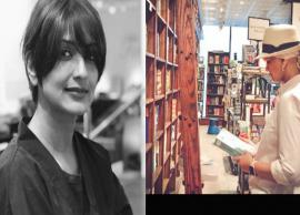 Amid cancer treatment, Sonali Bendre enjoys a day with books in New York