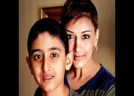 Sonali Bendre's post on son Ranveer's 13th birthday is heart-wrenching