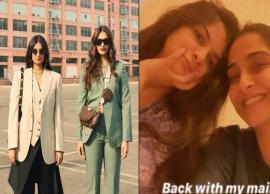 Sonam Kapoor Reunites With Sister Rhea After Traveling To Mumbai