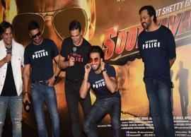 VIDEO- Ranveer Singh Gets Punishment From Akshay Kumar at Trailer Launch of Sooryavanshi